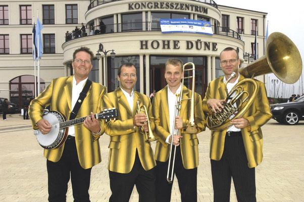 Jazz Quartett in Der Yachthafen Residenz Hohe Düne