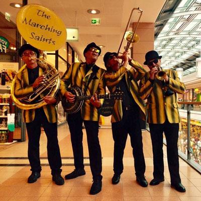 Jazzband The Marching Saints zum Jubiläum in Kiel