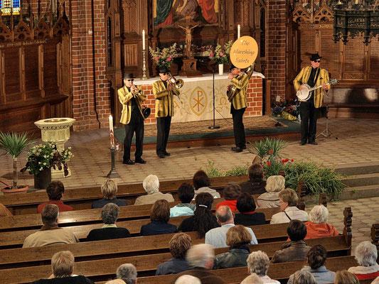 Jazzkonzert in einer Kirche in Malchow