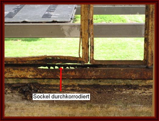 Sockel Detail Ostseite