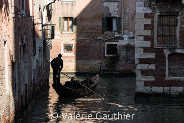 Gondolier - Venise