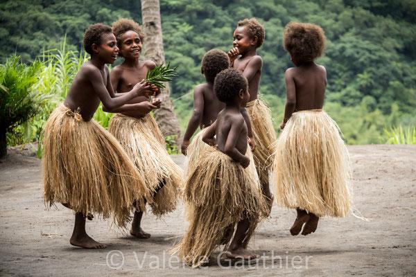 VANUATU - île de Tanna - danse traditionelle