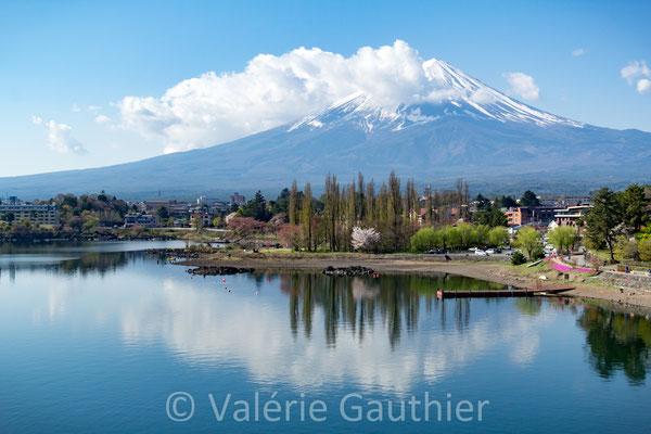 Mont Fuji vu de Kawaguchiko