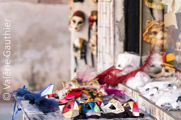 Étal de masques - Venise