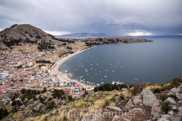 Copacabana sur les rives du lac Titicaca