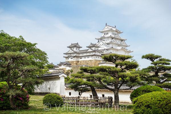 JAPON - château du héron blanc à Himeji