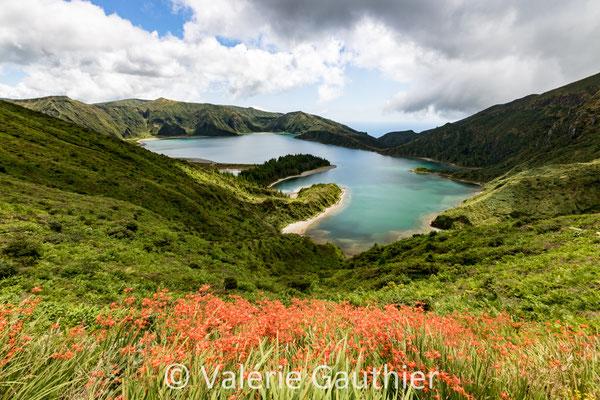 Lagoa do Fogo - île de Sao Miguel - Açores