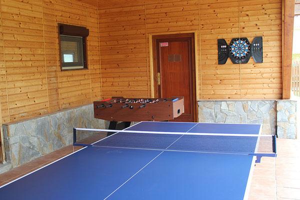 Primer plano Ping Pong.