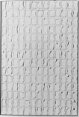 Tissues, 1972    Toilettpapier und Acryl auf Leinwand; 195 x 130 cm