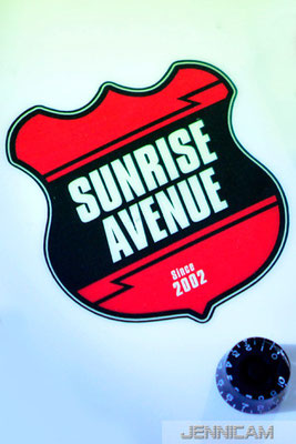 "Sunrise Avenue, ""Out Of Style""-Tour, Filderstadt, 31.10.2011"