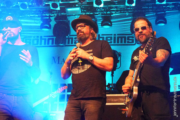 Söhne Mannheims, 7.5.2017, Stuttgart