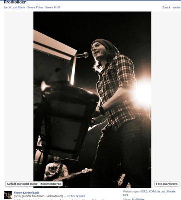 Simon Kurtenbach/hier: F.R.-Band.2011
