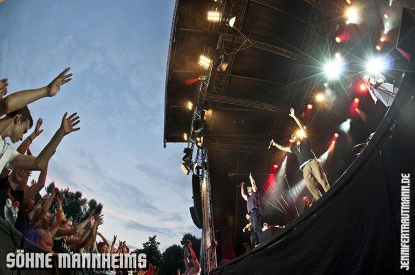Söhne Mannheims, Waiblingen, 27.7.2014