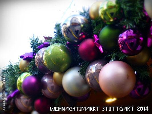 Weihnachtsmarkt Stuttgart, 23.12.2014