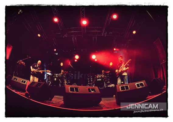 Robbee Mariano, Wolfgang Haffner, Frank Itt & Ralf Gustke@Musikmesse, 12.4.2013