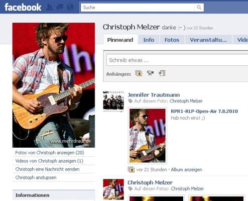 Christoph Melzer/Rolf Stahlhofen-Band