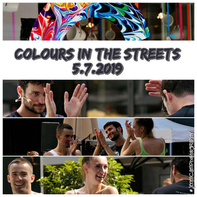 5.7.: COLOURS IN THE CITY, Dorotheenquartier