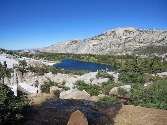 Blick zurück auf Fletcher Lake