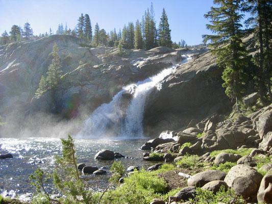 Wasserfall bei Glen Aulin