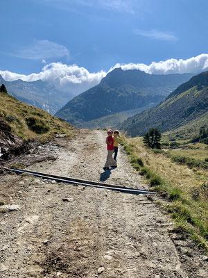 Kurz for der Alpenrosehütte