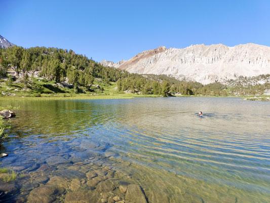 Twin Lakes war super zum Schwimmen