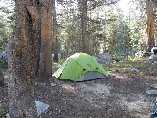 Camp 2 bei Rush Creek - Bear Country!
