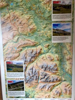 Von Rondvassbu aus kann man via weiteren Hütten einen Rundweg durch Rondane gehen.