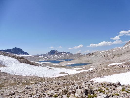 Blick vom Muir Pass Richtung Wanda Lake