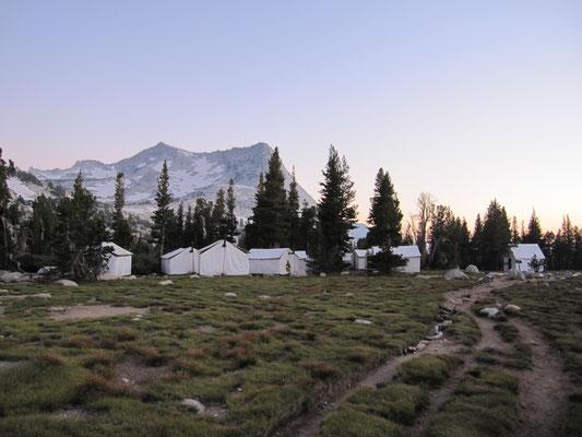 Das High Sierra Camp, dort haben wir an einem Abend gegessen