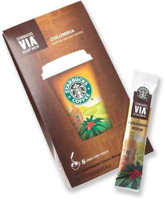 Starbucks im Backcountry, etwas Luxus muß sein.