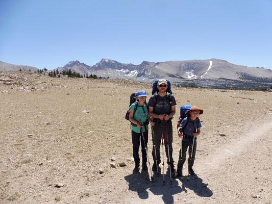 Bighorn Plateau mit Mount Whitney im Hintergrund