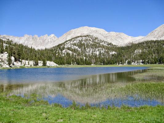 Rock Creek Lake auf dem Weg zu Lower Soldier Lake