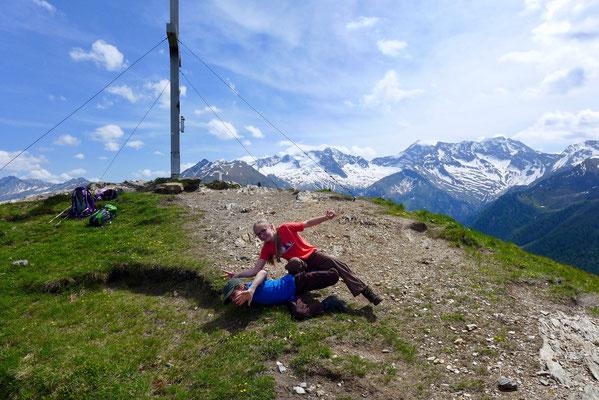 Auch eine Gipfeltour muß Spaß machen.