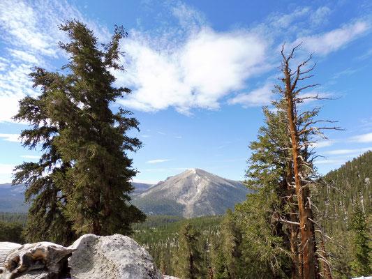 Der Blick zurück vom 3.316 Meter hohen Guyot Pass