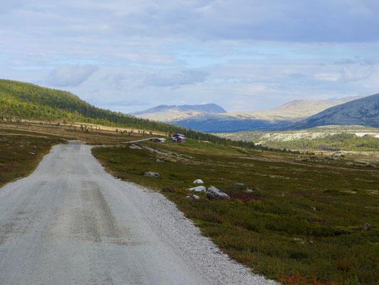 Die Grimsdalen Straße.