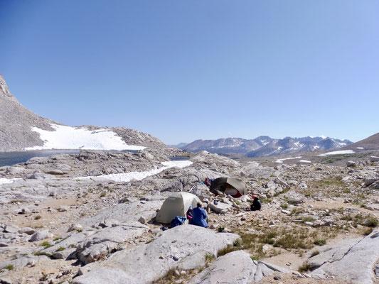 Unser Camp auf 3.712 Meter