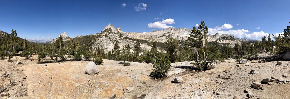 Was für ein Panorama, Yosemite ist einfach nur genial