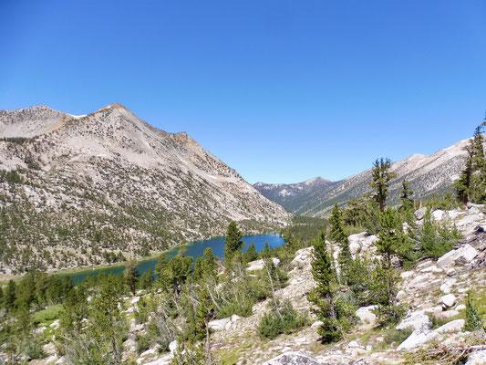 Blick auf Charlotte Lake