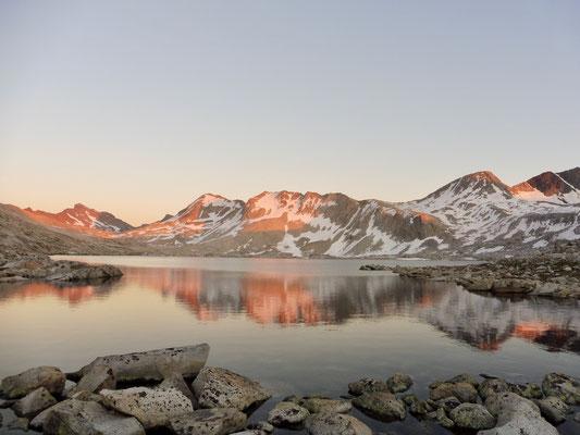 Muir Pass bei Sonnenuntergang