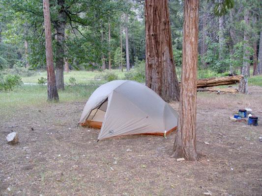 Unser Camp im Pate Valley