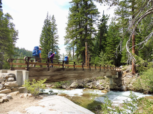 Brücke über den Mono Creek