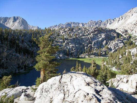 Der Blick auf den Lower Soldier Lake