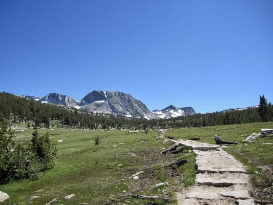 Der Blick Richtung Mount Fletcher
