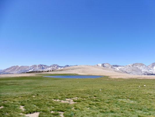 Bighorn Plateau ist eines der Highlights auf dem JMT