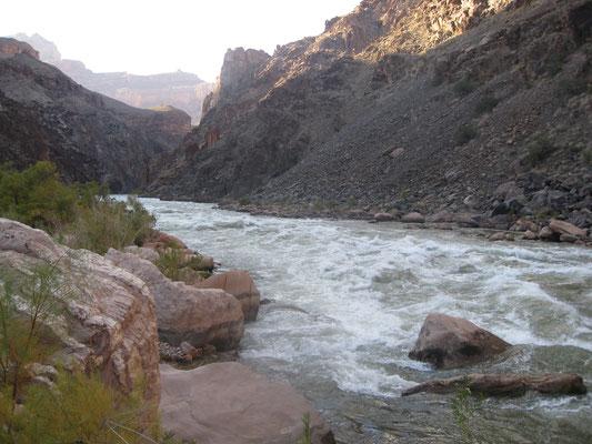 Hermit Rapids bei normalen Wasserstand