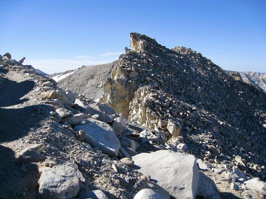 Nach Trail Crest wandert man entlang bizarrer Steinformationen