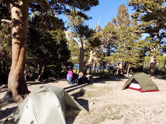 Camp 1 war am Long Lake