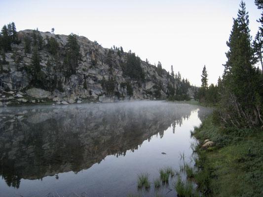 Sonnenaufgang an Miller Lake