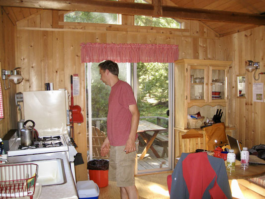 Backpacker Cabin im Silver City Resort, Sequoia