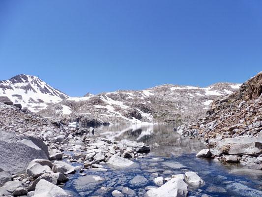 Endlich erblickten wir Helen Lake